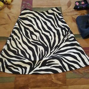 Worthington Zebra Skirt 4